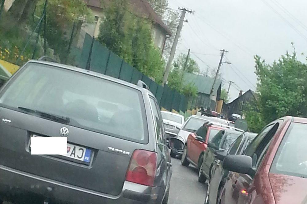 Zápcha v mestskej časti Vranie, foto 3