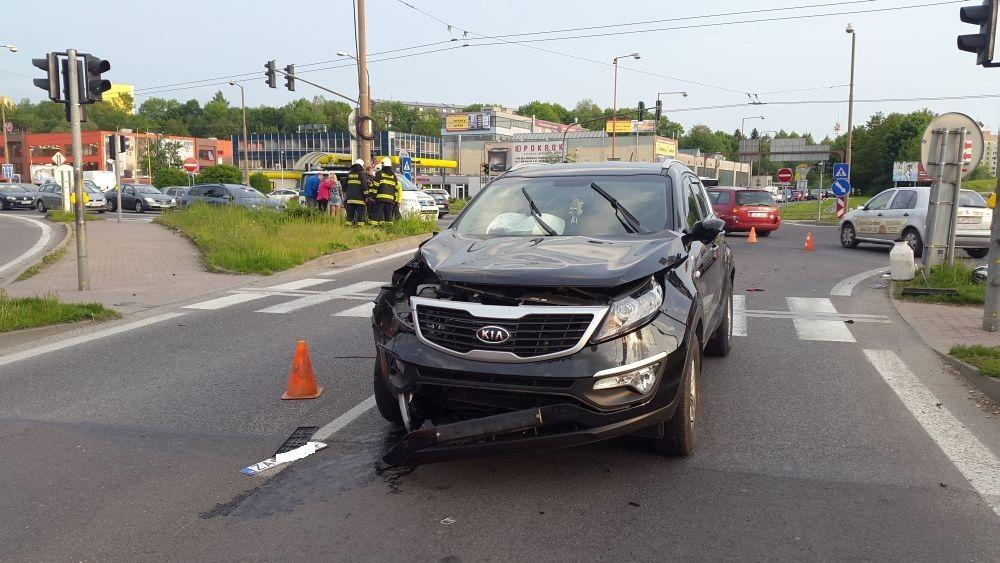 Vážna dopravná nehoda na križovatke Košická 15.5.2015, foto 2