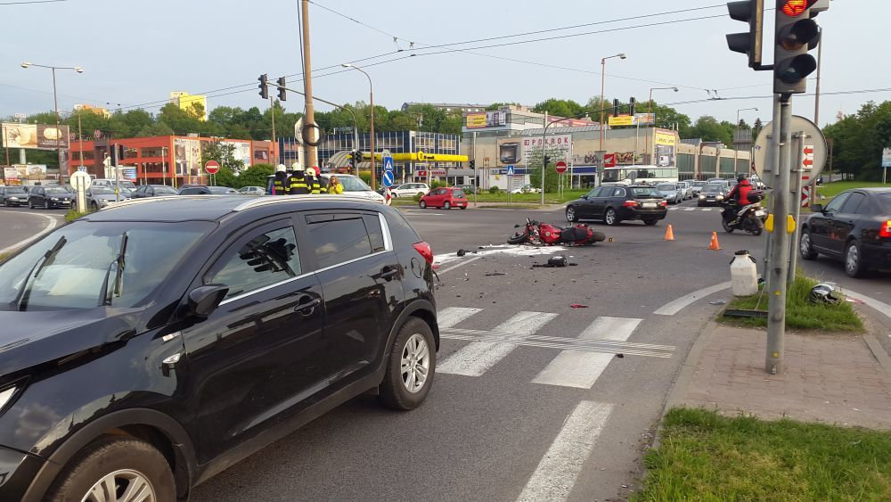 Vážna dopravná nehoda na križovatke Košická 15.5.2015, foto 3