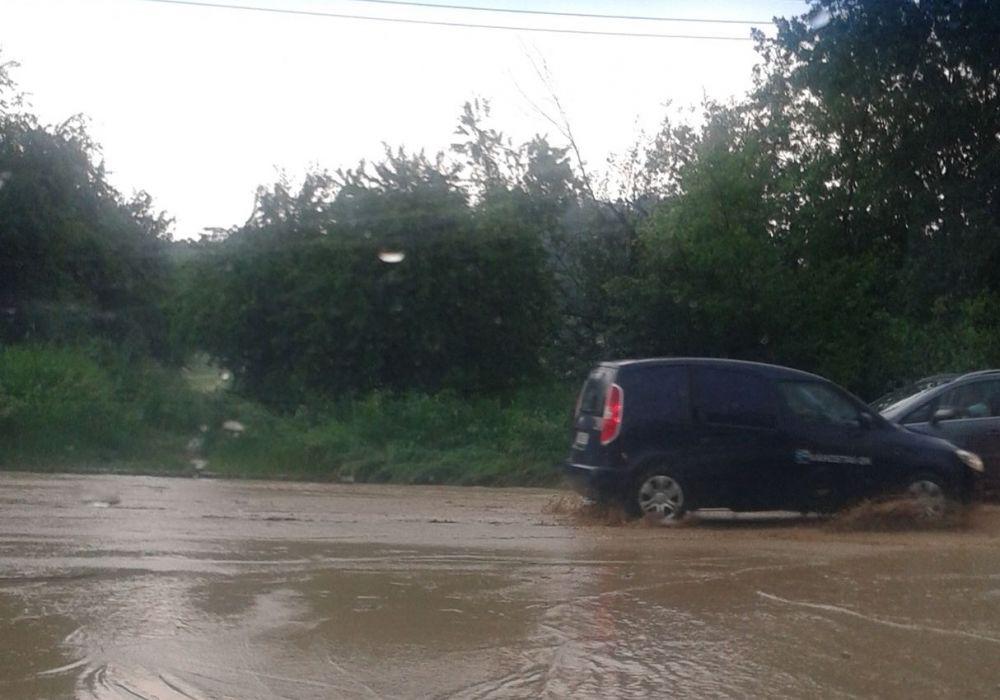 Zaplavená konečná MHD Solinky, foto 2