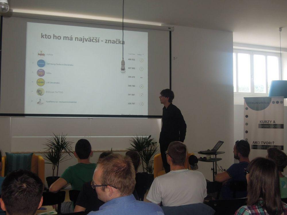 Prednáška s názvom Ako (sa) predávať na Facebooku, foto 3