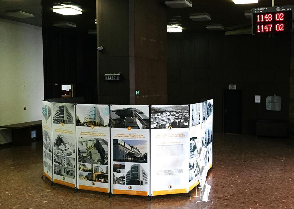 """Putovná výstava """"Elektrárne"""" pokračuje na Mestskom úrade Žilina , foto 1"""