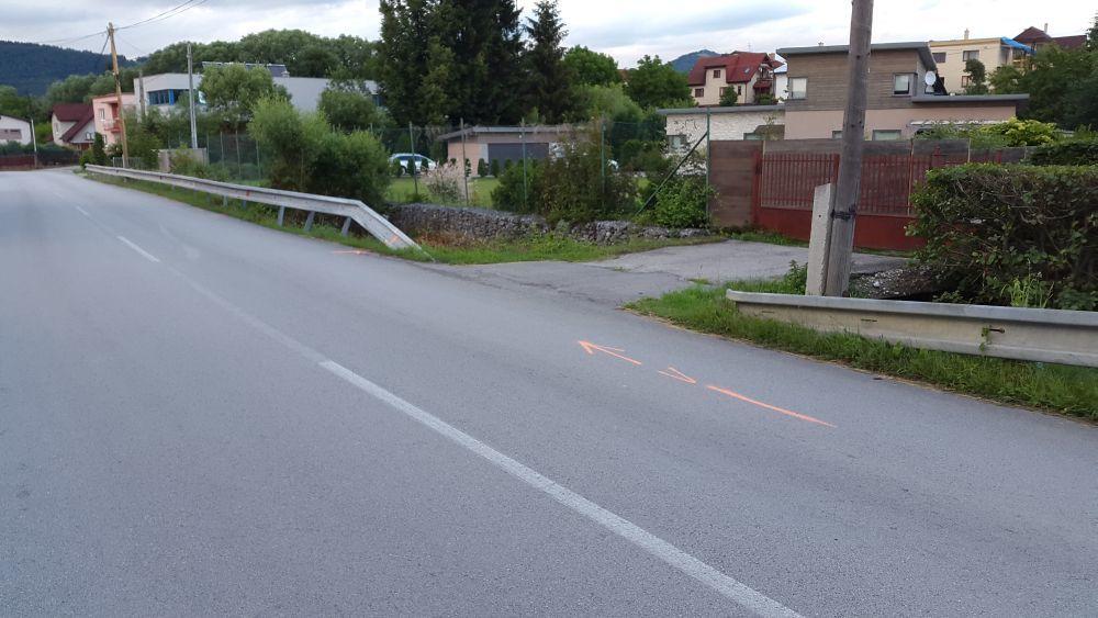 Dopravná nehoda v časti Rosinky - 23.6.2015, foto 1