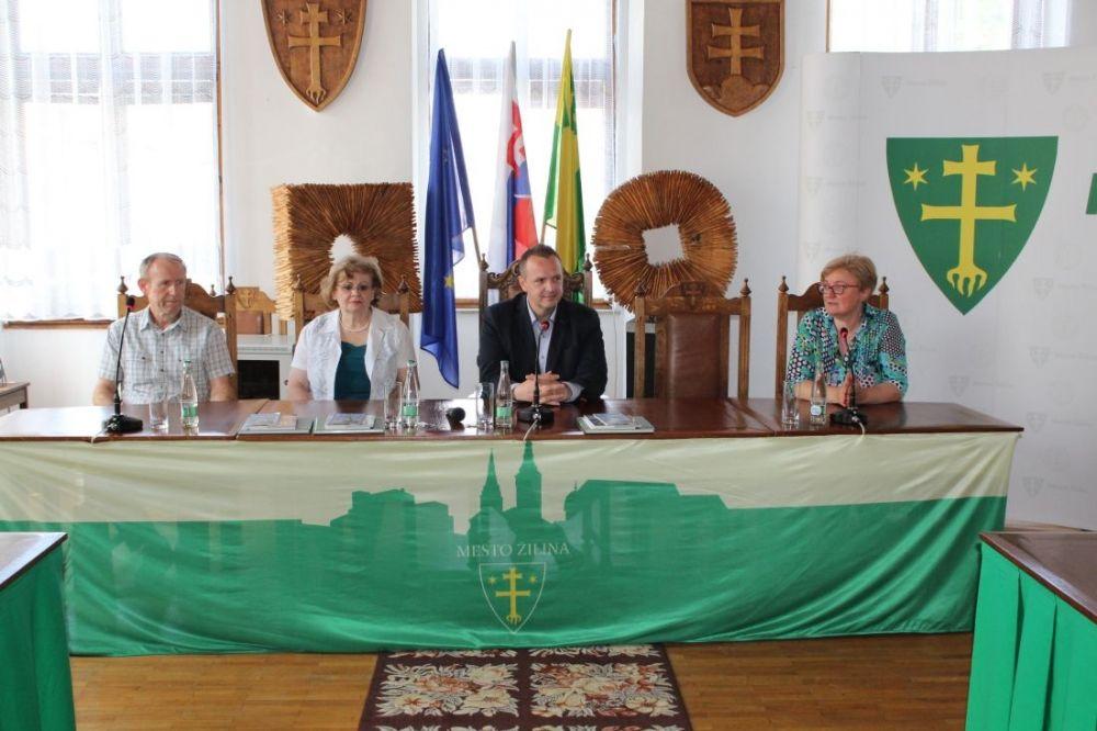 Chorváti so slovenskými koreňmi navštívili Žilinu , foto 1