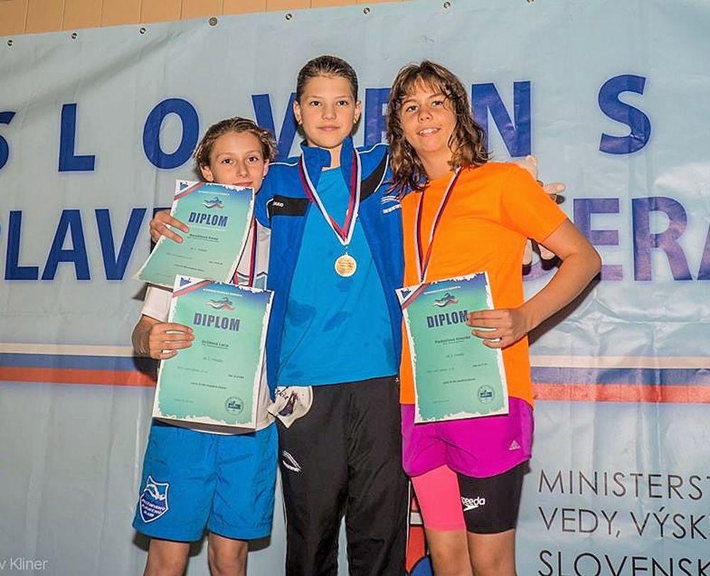 Dvaja mladí žilinskí plavci získali spolu 19 medailí, foto 1