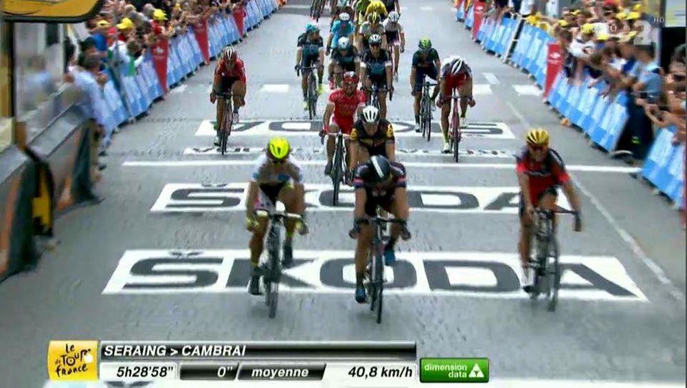 Peter Sagan 3. miesto Stage 4 Tour de France, foto 2