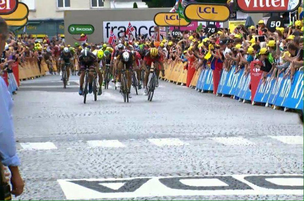 Peter Sagan 3. miesto Stage 4 Tour de France, foto 3