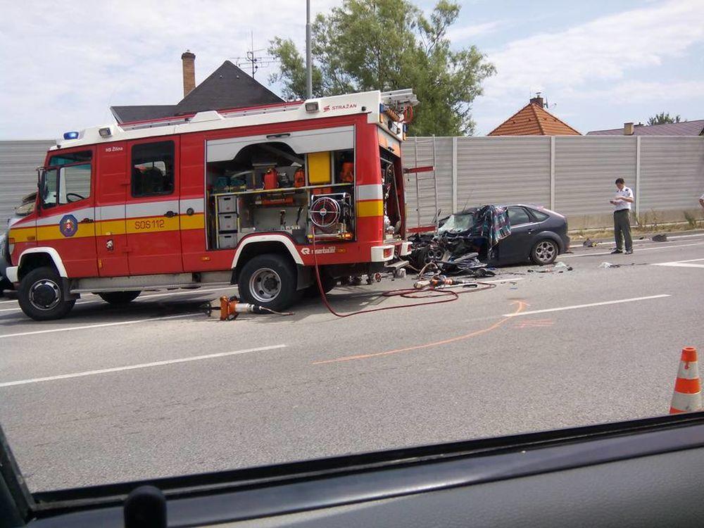 Smrteľná dopravná nehoda v Strážove 8.7.2015, foto 1