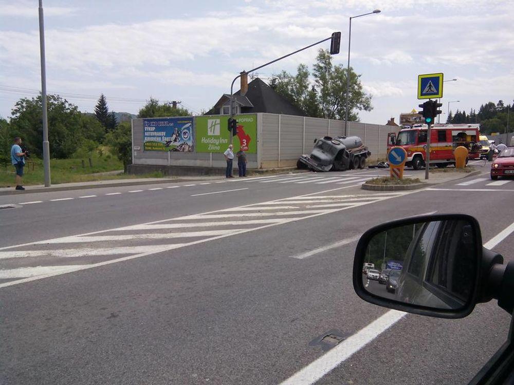 Smrteľná dopravná nehoda v Strážove 8.7.2015, foto 3