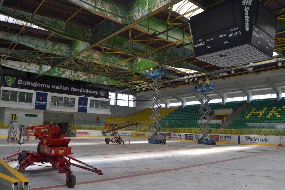 Rekonštrukcia zimného štadióna MsHK Žilina, foto 1