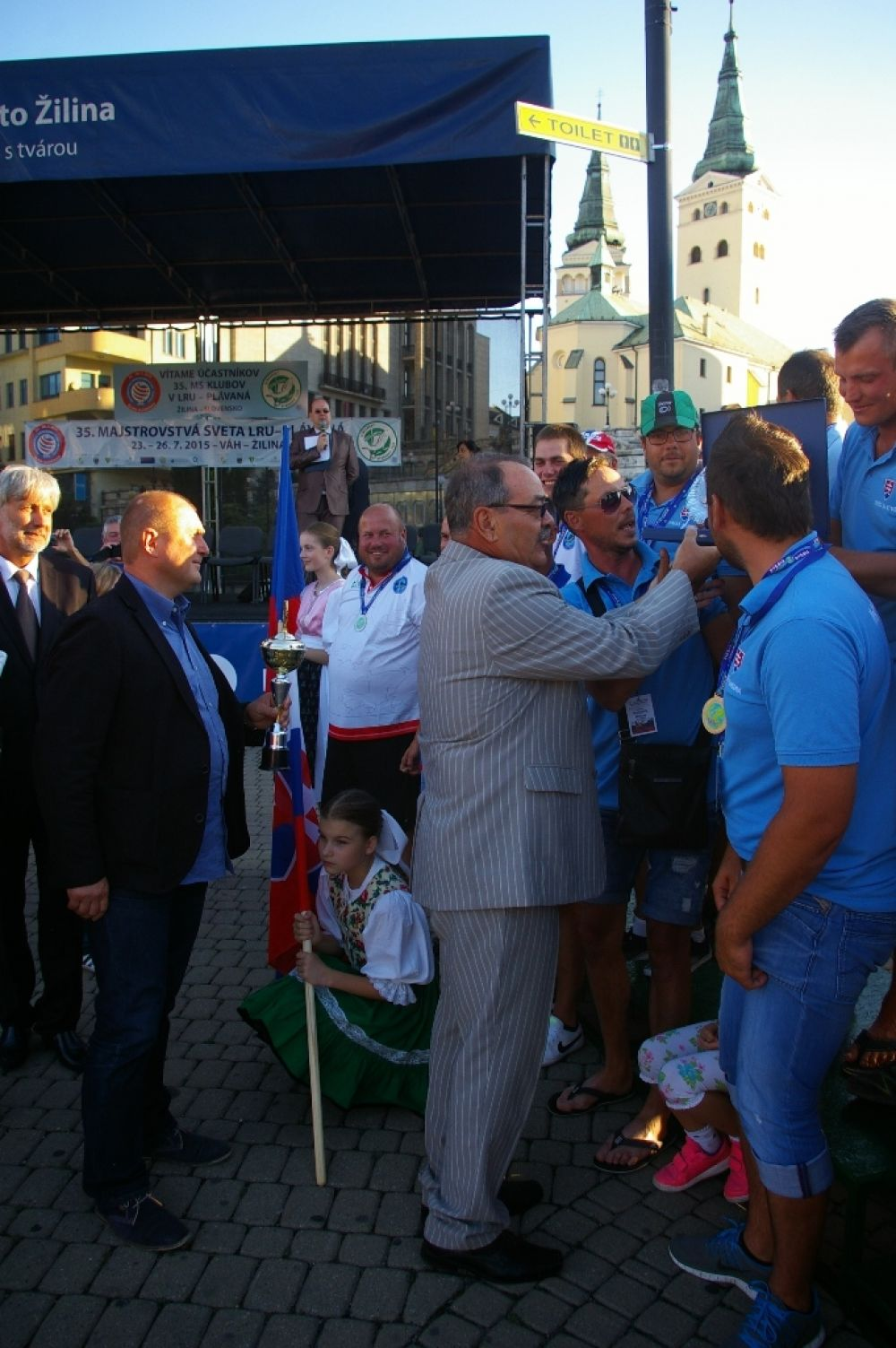 Víťazom 35. Majstrovstiev sveta v love rýb udicou sa stal slovenský klub, foto 1