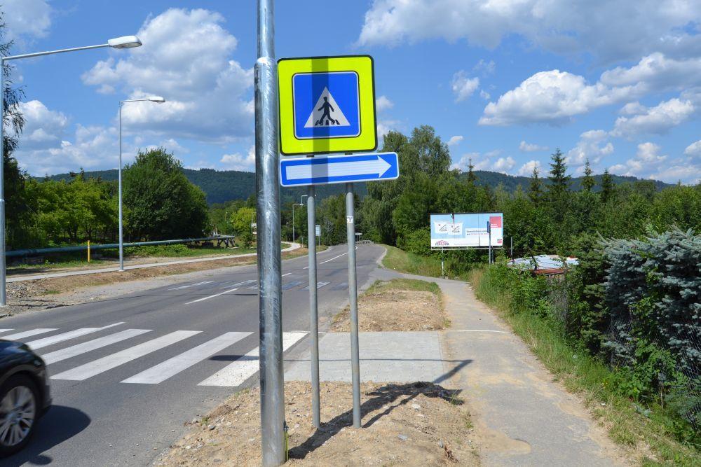 Nová jednosmerná cesta na ulici Majerská, časť Rosinky, foto 2