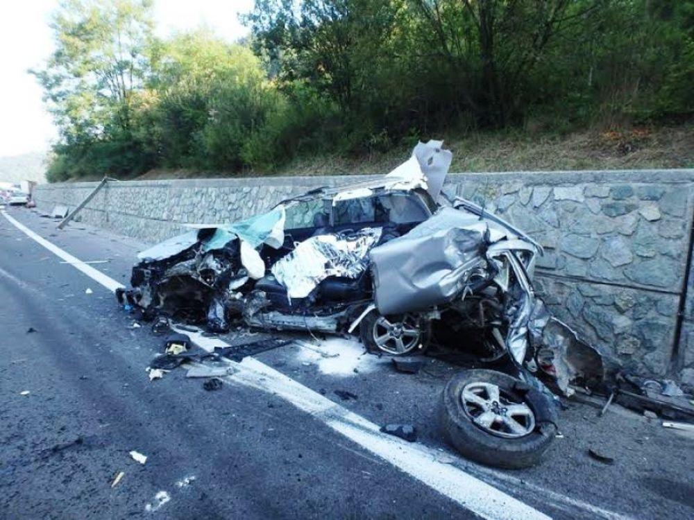 Tragická dopravná nehoda pri Čadci 7.8.2015, foto 1
