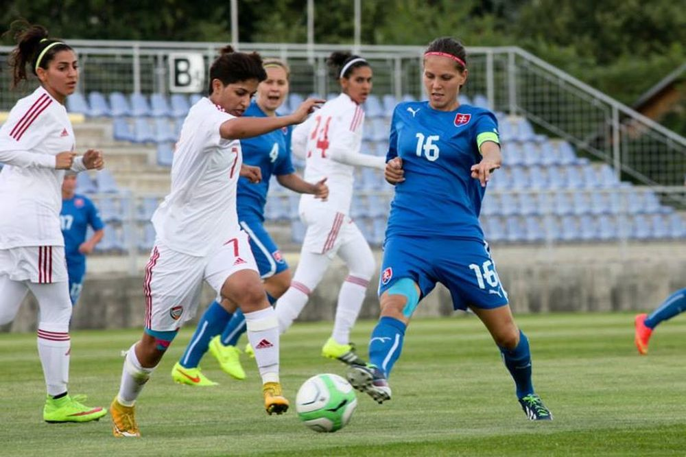 Futbalistky ŠKF VIX Žilina zažiarili proti SAE, foto 2