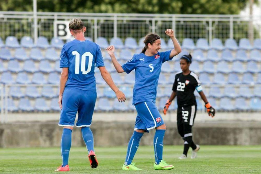 Futbalistky ŠKF VIX Žilina zažiarili proti SAE, foto 3