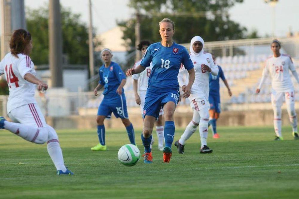 Futbalistky ŠKF VIX Žilina zažiarili proti SAE, foto 4