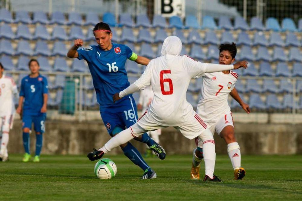 Futbalistky ŠKF VIX Žilina zažiarili proti SAE, foto 5