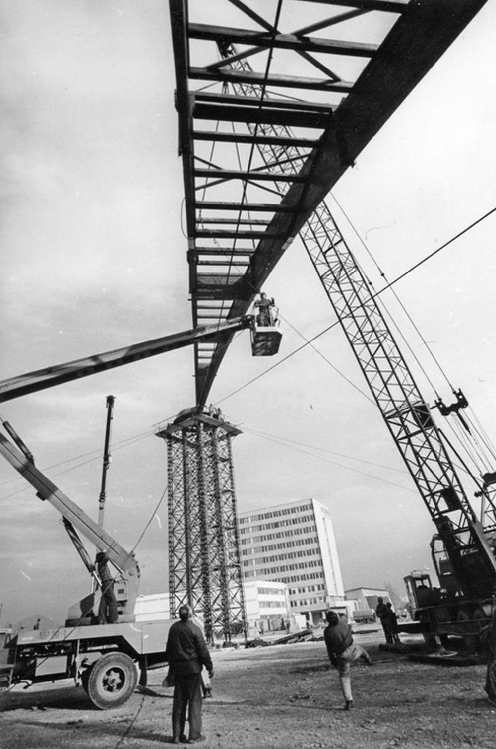 FOTO: 33 záberov z výstavby športovej haly na Bôriku v Žiline, foto 2