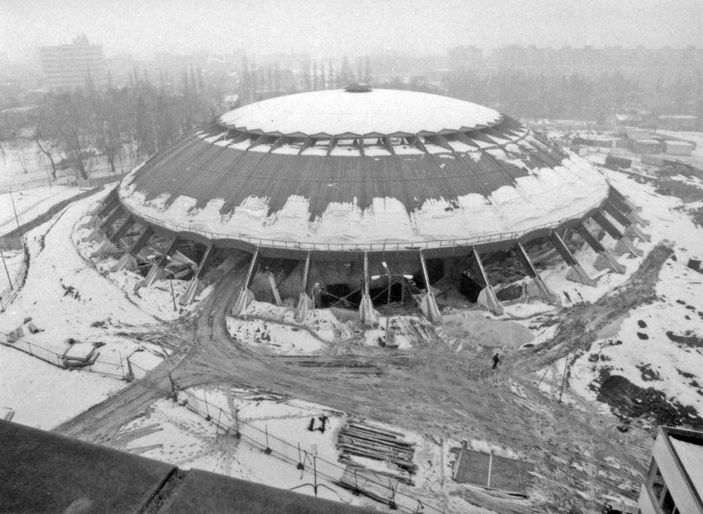 FOTO: 33 záberov z výstavby športovej haly na Bôriku v Žiline, foto 4