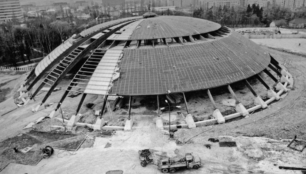 33 fotiek z výstavby športovej haly na Bôriku, foto 6