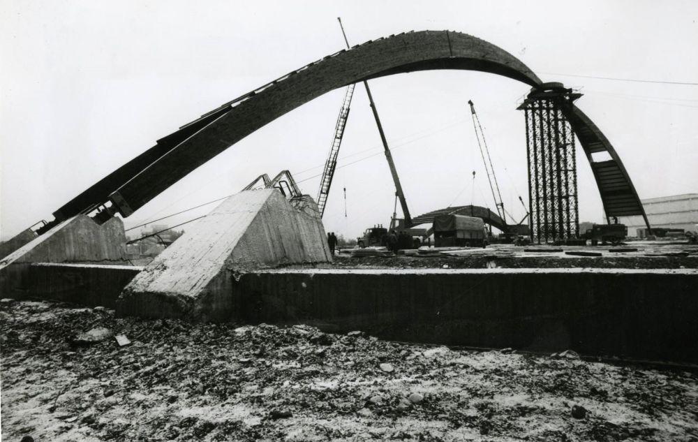 FOTO: 33 záberov z výstavby športovej haly na Bôriku v Žiline, foto 8