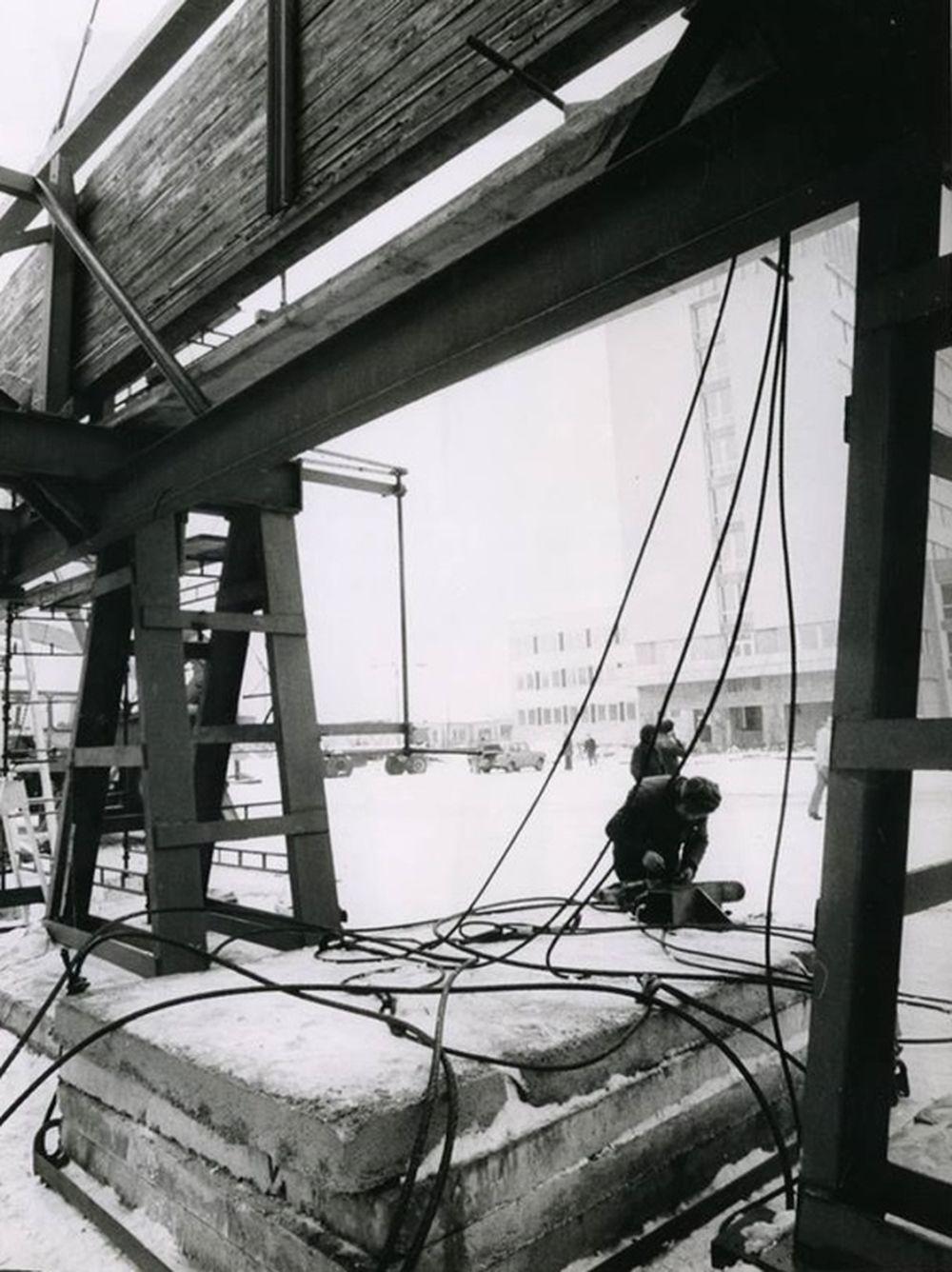 FOTO: 33 záberov z výstavby športovej haly na Bôriku v Žiline, foto 9