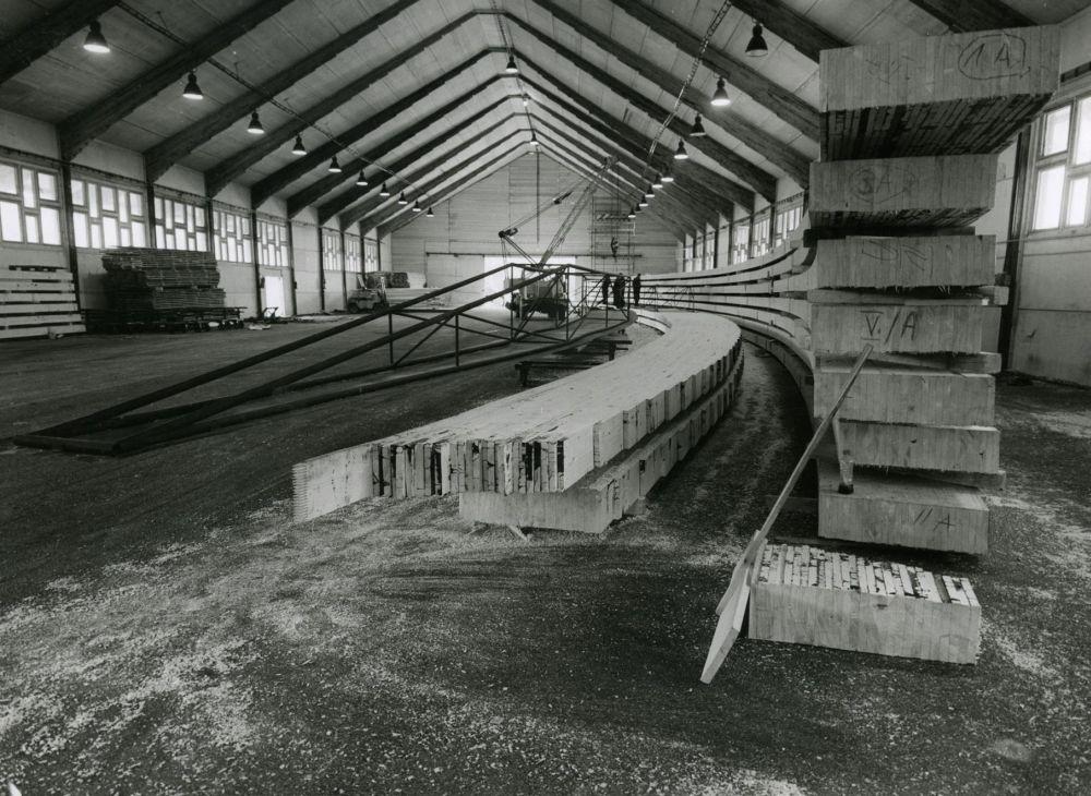 FOTO: 33 záberov z výstavby športovej haly na Bôriku v Žiline, foto 11