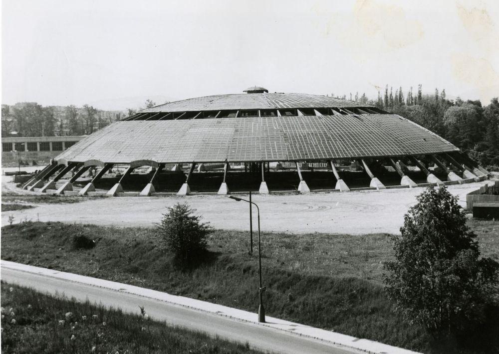 33 fotiek z výstavby športovej haly na Bôriku, foto 12