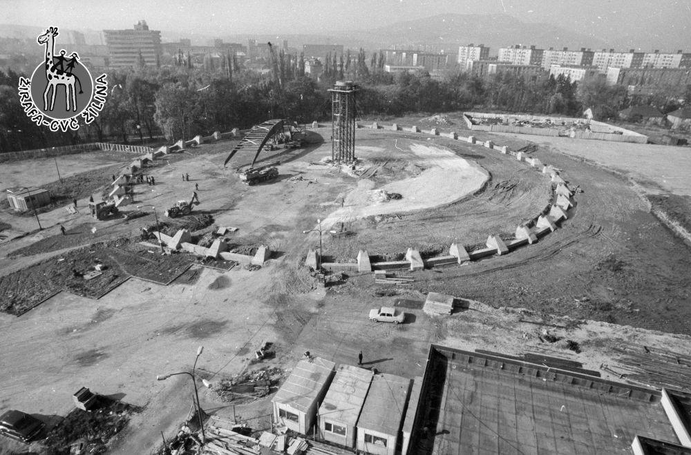 33 fotiek z výstavby športovej haly na Bôriku, foto 14
