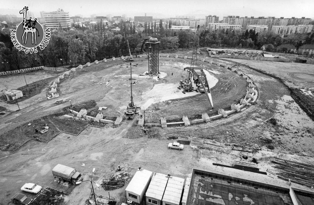 FOTO: 33 záberov z výstavby športovej haly na Bôriku v Žiline, foto 15