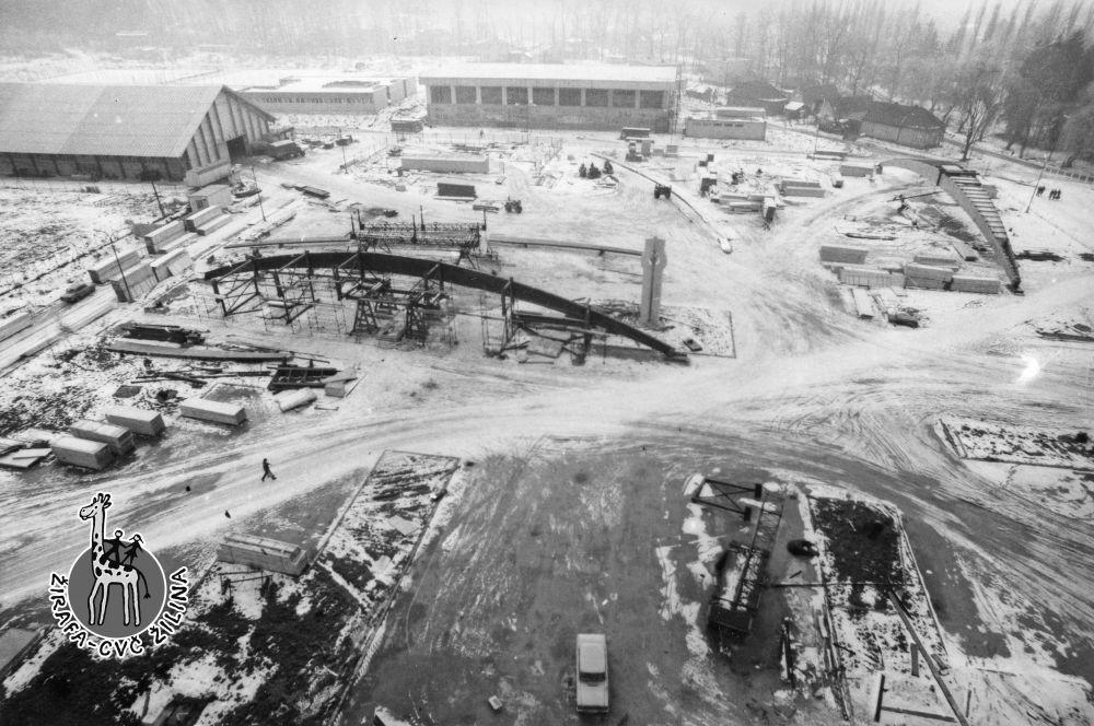 FOTO: 33 záberov z výstavby športovej haly na Bôriku v Žiline, foto 16