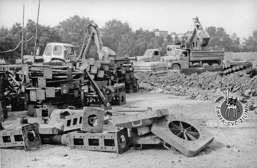 FOTO: 33 záberov z výstavby športovej haly na Bôriku v Žiline, foto 22