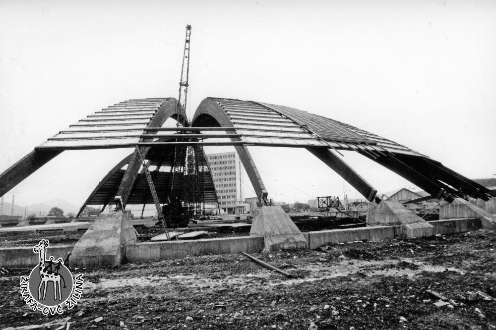 FOTO: 33 záberov z výstavby športovej haly na Bôriku v Žiline, foto 26
