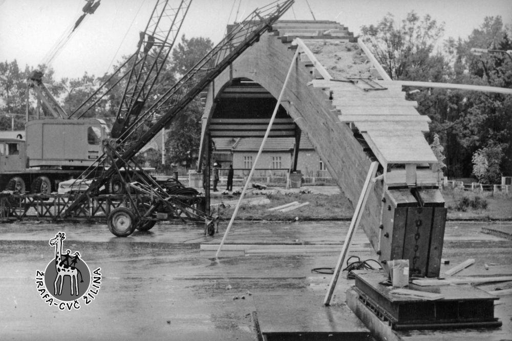 FOTO: 33 záberov z výstavby športovej haly na Bôriku v Žiline, foto 29