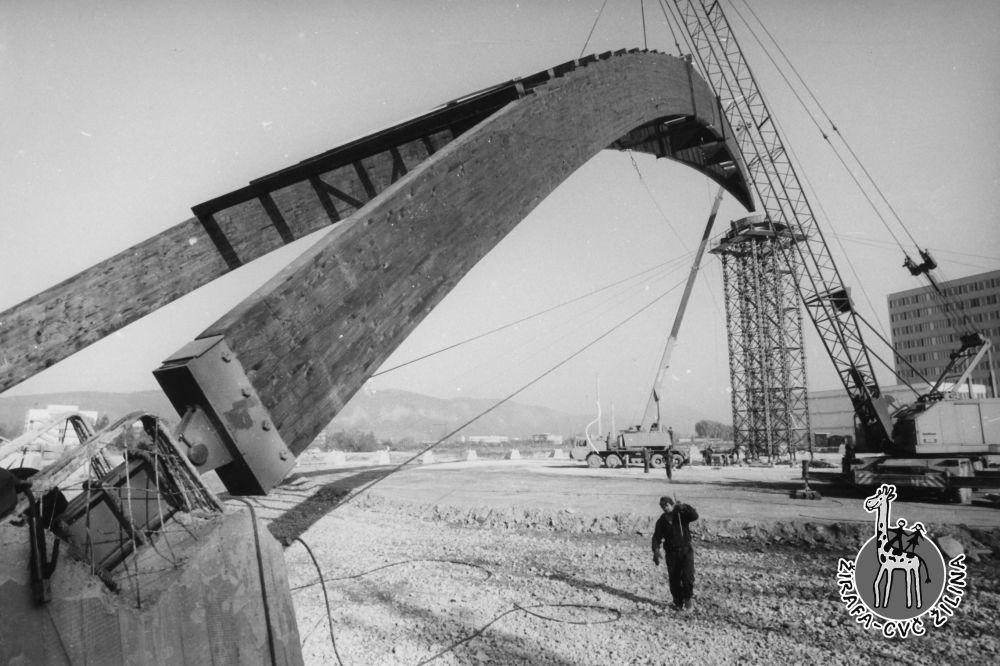 FOTO: 33 záberov z výstavby športovej haly na Bôriku v Žiline, foto 32