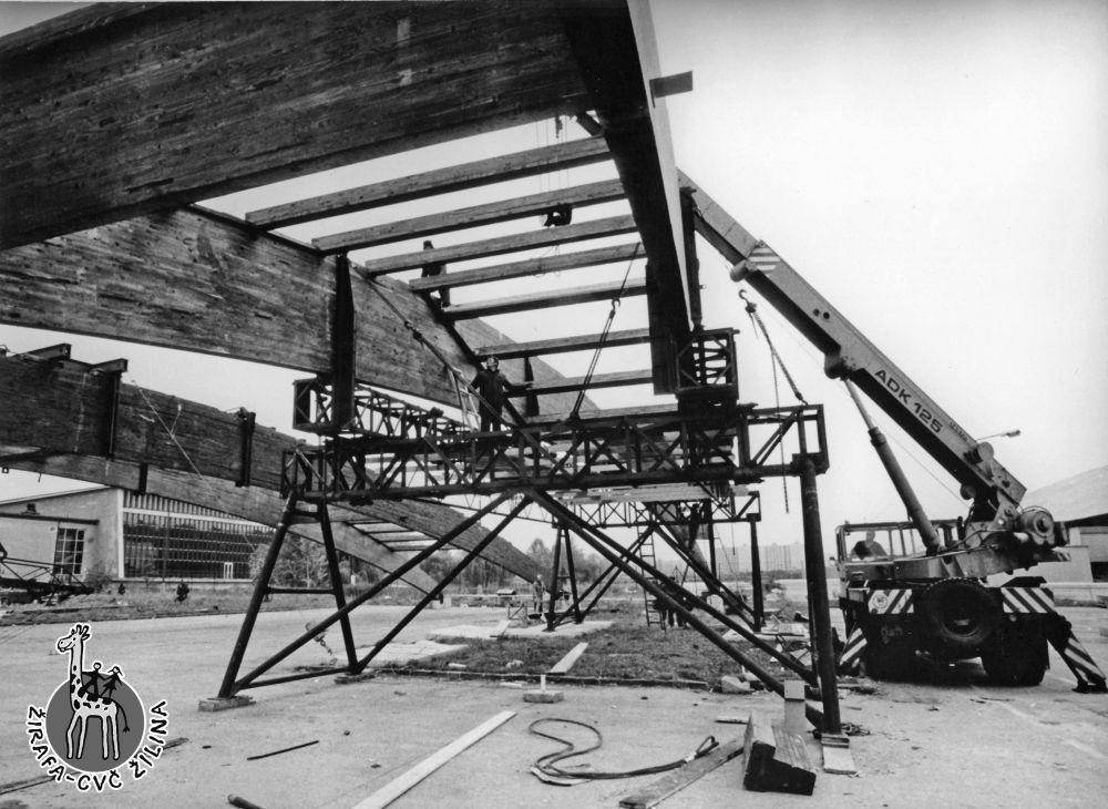 FOTO: 33 záberov z výstavby športovej haly na Bôriku v Žiline, foto 33