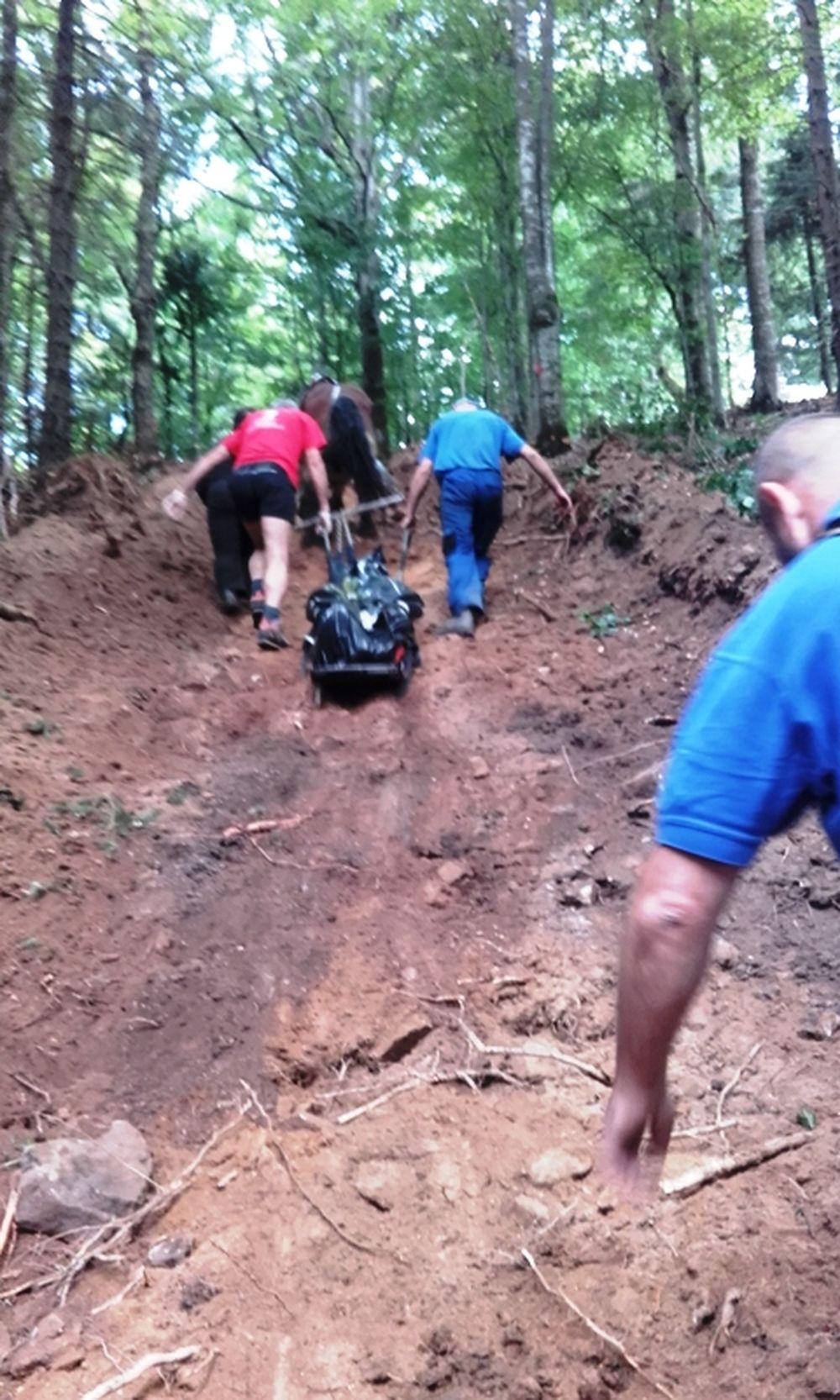 Tragická smrť lesného robotníka Veľká Fatra, foto 1