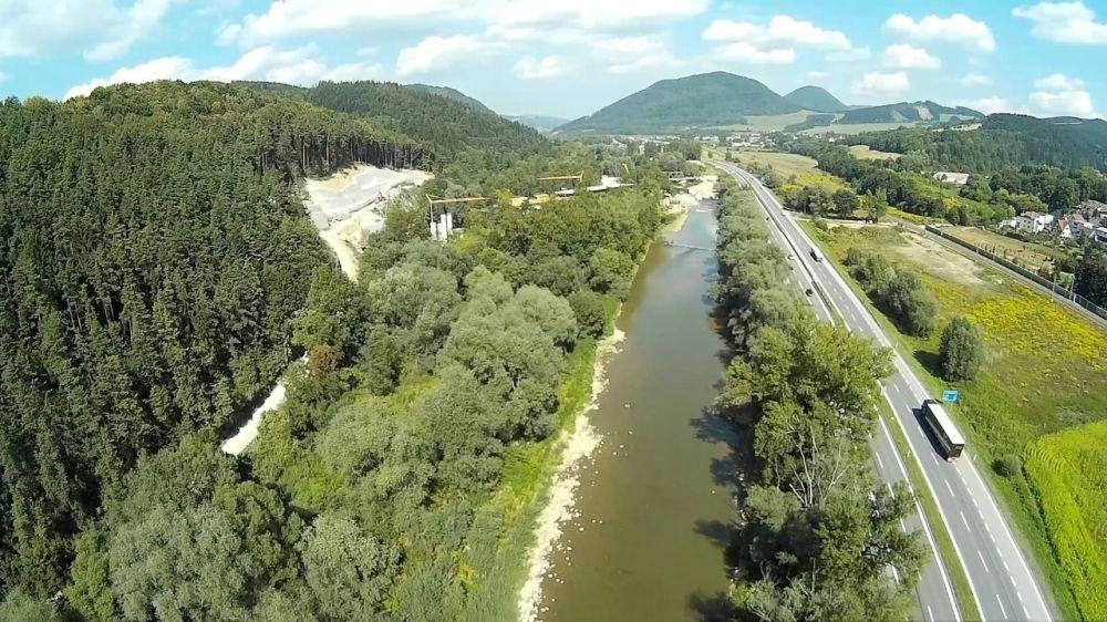 Fotografie výstavby tunela D3 Žilina - Brodno, foto 2