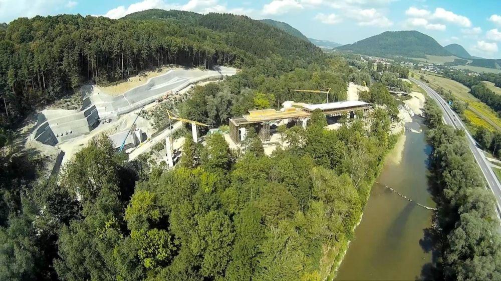 Fotografie výstavby tunela D3 Žilina - Brodno, foto 3
