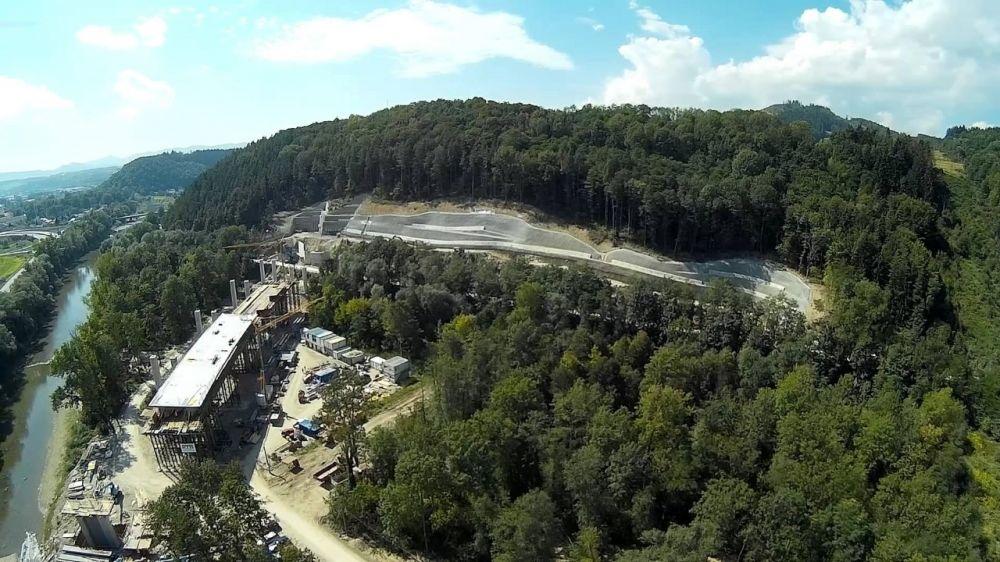 Fotografie výstavby tunela D3 Žilina - Brodno, foto 10