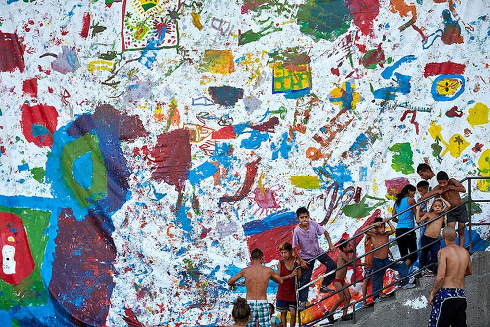 Deti v osade Sečovce snívali s umelcami o lepšom domove, foto 4