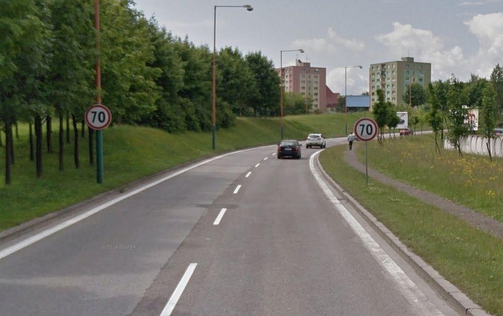 Odstránenie dopravných značiek 70 km/h na Nemocničnej, foto 1