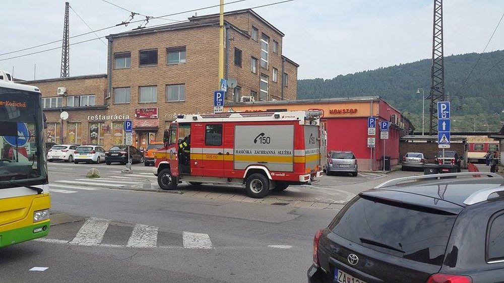 Ohlásená bomba v budove žilinského súdu, foto 1
