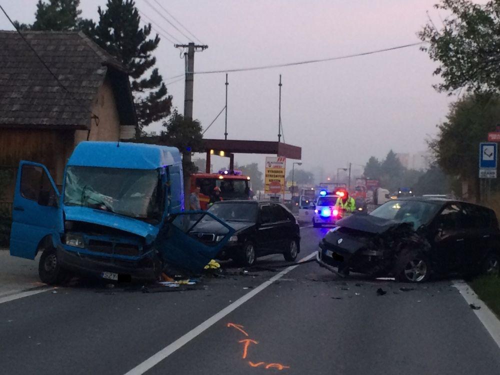 Dopravná nehoda v Bytčici - 7.10.2015, foto 2