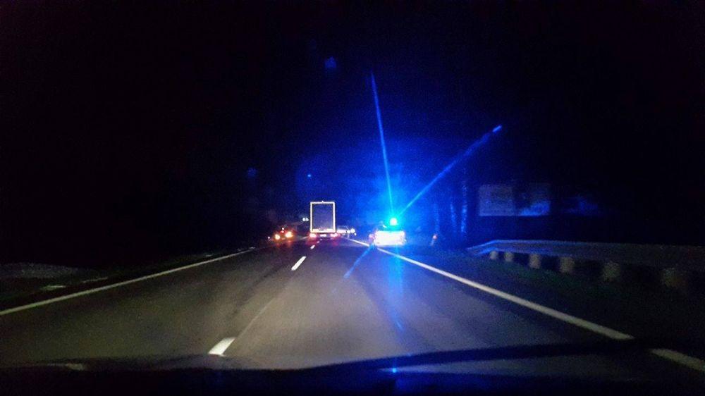 Večerné nehody v Mojšovej Lúčke a na Solinkách 17.10.2015 , foto 1