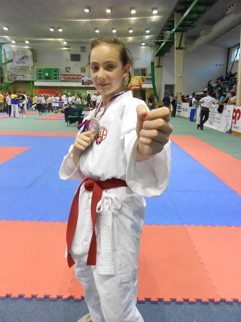 Karate Klub Žilina vybojoval 4 medaily pre Žilinu na SP v Galante, foto 1
