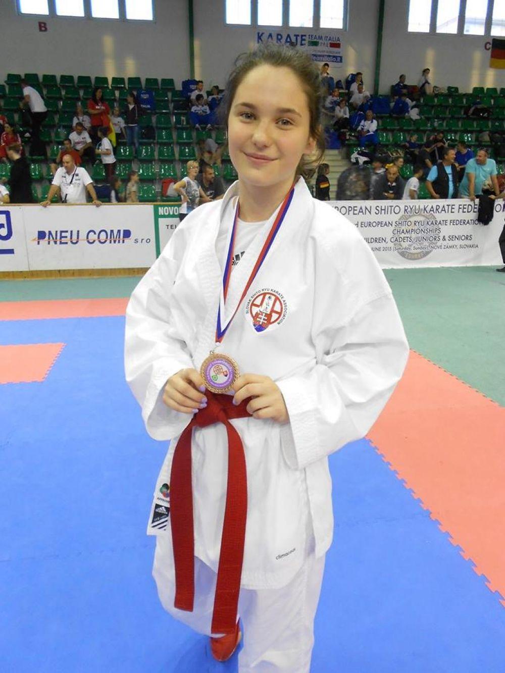 Karate Klub Žilina vybojoval 4 medaily pre Žilinu na SP v Galante, foto 2