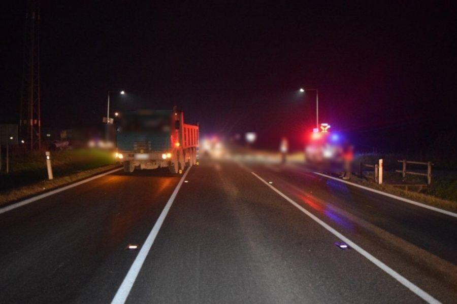 Dopravná nehoda Kysucký Lieskovec 12.11.2015, foto 1