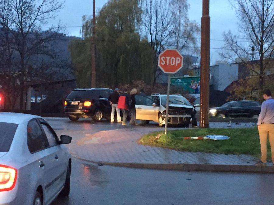 Dopravná nehoda na ulici Košická - 15.11.2015, foto 1