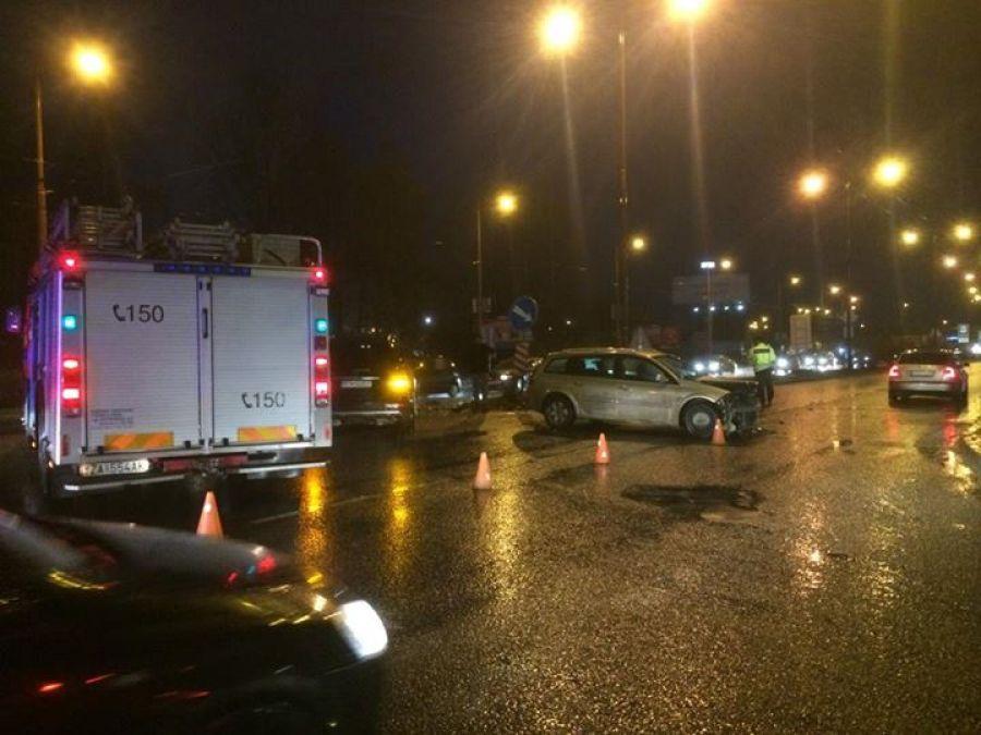 Dopravná nehoda na ulici Košická - 15.11.2015, foto 2